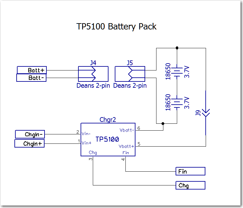 New Tp5100-based Battery Pack For Wall-e2